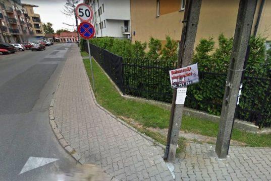 Róg ulic Katiuszy i Paderewskiego w Rembertowie